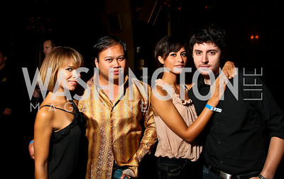Photo by Tony Powell. Vera Chamberlin, Pergrin Pervez, Fabiana Talbot, Nicholas Cambata