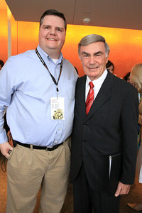 Joe Donahue, Sam Donaldson, reporter and news anchor for ABC News