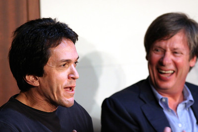Mitch Albom with Dave Barry