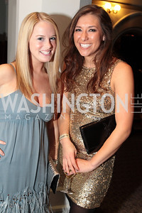 Photo by Alfredo Flores. Ali Mclaughlin, Whitney Ksiazek. The Smithsonian Young Benefactors 20th Annual Jolly Holiday Party. December 3, 2010.