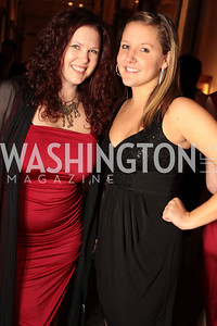 Photo by Alfredo Flores. Melissa Webb, Michelle Adams. The Smithsonian Young Benefactors 20th Annual Jolly Holiday Party. December 3, 2010.