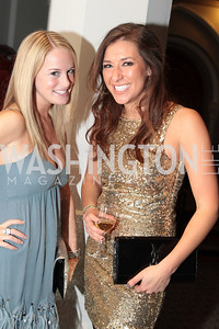 Photo by Alfredo Flores. Ali Mclaughlin, Whitney Ksiazek. The Smithsonian Young Benefactors 20th Annual Jolly Holiday Party. December 3, 2010