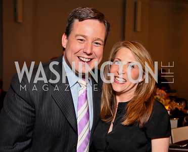 Ed Henry, Jessica Yellin. Photo by Tony Powell. The Week's Opinion Awards. W Hotel. April 20, 2010