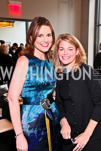 Savannah Guthrie, Sarah Feinberg. Photo by Tony Powell. The Week's Opinion Awards. W Hotel. April 20, 2010