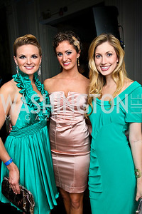 Miss Vermont 2008 Ashley Wheeler, Miss Virginia 2008 Tara Wheeler, Miss DC Kate Marie Grinold. Photo by Tony Powell. Young and the Guestlist. Washington Club. April 15, 2010