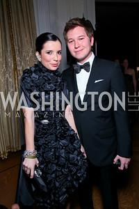 Aureta Thomollari, Teddy Kim. Photo by Tony Powell. Young and the Guestlist. Washington Club. April 15, 2010