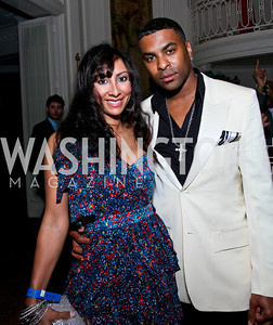 Solé and Ginuwine. Photo by Tony Powell. Young and the Guestlist. Washington Club. April 15, 2010