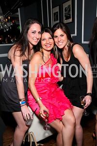 Jennifer King, Amal Zaari, Renee Sharrow. Photo by Tony Powell. Young and the Guestlist. Washington Club. April 15, 2010