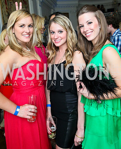 Liza Tanner, Rebecca Canan, Lindsay Craig. Photo by Tony Powell. Young and the Guestlist. Washington Club. April 15, 2010