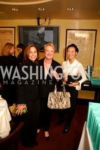 Melissa Moss, Mary Adams, Jany Dor, Tiffany Luncheon at Cafe Milano, October 29, 2010, Kyle Samperton