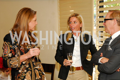 Mary Amons, Maria Trabochi, Richard Lambertson, Tiffany Luncheon at Cafe Milano, October 29, 2010, Kyle Samperton