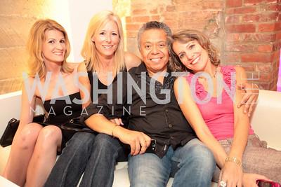Katie McHenry, Amy Shafer, Angel Saltos, Kristen Krivoshia. Tim Coburn Fashion Photography Showing at L2. Photo by Alfredo Flores