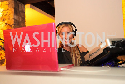 DJ Neekola. Tim Coburn Fashion Photography Showing at L2. Photo by Alfredo Flores