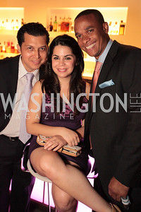 David Pardini, Angelique Velez, Rafael Polonia. Tim Coburn Fashion Photography Showing at L2. Photo by Alfredo Flores