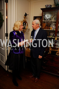 Diana Prince, Roger Stone. Tobin Book Party. December 15, 2009. Photo by Kyle Samperton.