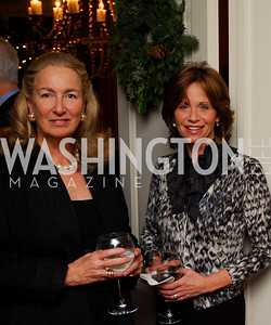 Joan Tobin, Ann Free. Tobin Book Party. December 15, 2009. Photo by Kyle Samperton.