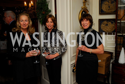 Joan Tobin, Ann Free, Anne Emmett. Tobin Book Party. December 15, 2009. Photo by Kyle Samperton.