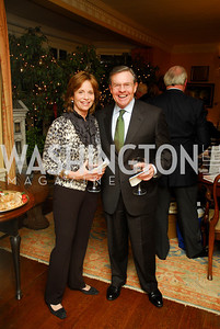 Ann Free, Jim Free. Tobin Book Party. December 15, 2009. Photo by Kyle Samperton.