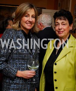 DeDe Myers, Marian Burros. Tobin Book Party. December 15, 2009. Photo by Kyle Samperton.