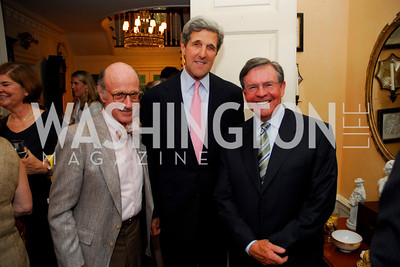 Kyle Samperton, Tobin Book Party, June 14, 2010, Finlay Lewis, John Kerry, Jim Free