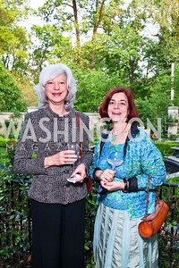 Mary Anne Goley, Rebecca Klemm. Photo by Tony Powell. Transformer's Collector's View #2. The home of Robert and Aimee Lehrman. April 22, 2010