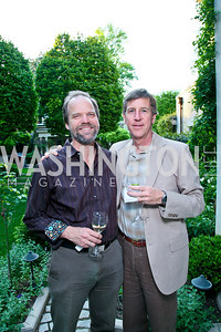 Steven Stichter, Mark Ewert. Photo by Tony Powell. Transformer's Collector's View #2. The home of Robert and Aimee Lehrman. April 22, 2010