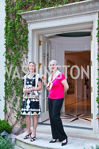 Nancy Bryant, Karen Barker. Photo by Tony Powell. Transformer's Collector's View #2. The home of Robert and Aimee Lehrman. April 22, 2010