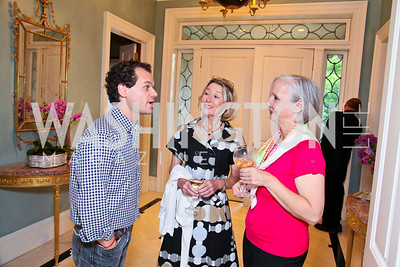 James Alefantis, Nancy Bryant, Karen Barker. Photo by Tony Powell. Transformer's Collector's View #2. The home of Robert and Aimee Lehrman. April 22, 2010