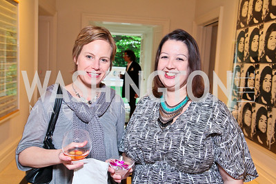Molly Allen, Victoria Reis. Photo by Tony Powell. Transformer's Collector's View #2. The home of Robert and Aimee Lehrman. April 22, 2010