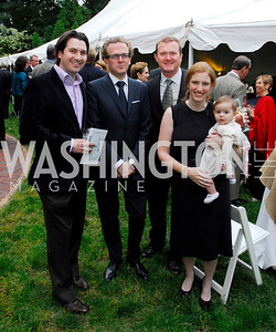 Kyle Samperton, May 19, 2010, Tudor Place Garden Party, Andrew Farrell, Chum Langhorne, Will Langhorne, Serry Cox Farrell