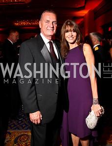 Photo by Tony Powell. Gen. Jim Jones, Lynly Boor. USO Gala. Marriott Wardman Park Hotel. October 7, 2010