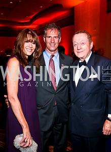 Photo by Tony Powell. Lynly Boor, Senator Scott Brown, Tom Quinn. USO Gala. Marriott Wardman Park Hotel. October 7, 2010