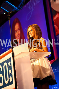 Photo by Tony Powell. Actress Madison Pettis. USO Gala. Marriott Wardman Park Hotel. October 7, 2010