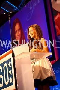 Photo by Tony Powell. Actress Madison Pettis. USO Gala. Marriott Wardman Park Hotel. October 7, 2010