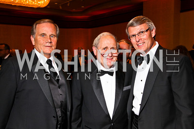 Photo by Tony Powell. Jay Kimmitt, Senator Carl Levin, Charles Szews. USO Gala. Marriott Wardman Park Hotel. October 7, 2010