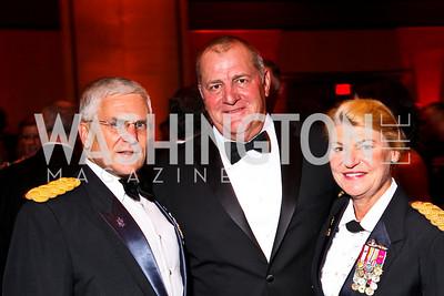 Photo by Tony Powell. Gen. George Casey, Craig Brotchie, Gen. Ann Dunwoody. USO Gala. Marriott Wardman Park Hotel. October 7, 2010