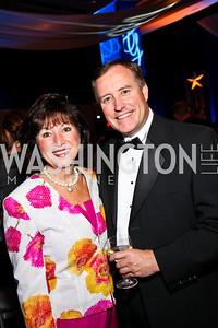 Photo by Tony Powell. Robin Fitch, Bob Murph. USO Gala. Marriott Wardman Park Hotel. October 7, 2010