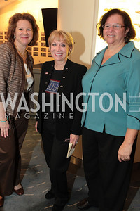 Melissa Glynn Elaine Rogers Sandy Levine. Photo by Alfredo Flores. USO cocktail reception and screening of The Bridge on the River Kwai