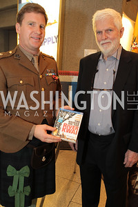 Geoffrey Horne. Photo by Alfredo Flores. USO cocktail reception and screening of The Bridge on the River Kwai