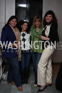 Cheryl Romero, Jamie Gulin, Tina Cruikshank, Jennifer Pugh. Urban Chic Trunk Show. March 26, 2010. Photo's by Michael Domingo