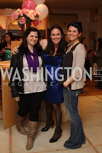 Tiffany Cannata, Lindsay Buscher, Courtney Cannata. Urban Chic Trunk Show. March 26, 2010. Photo's by Michael Domingo