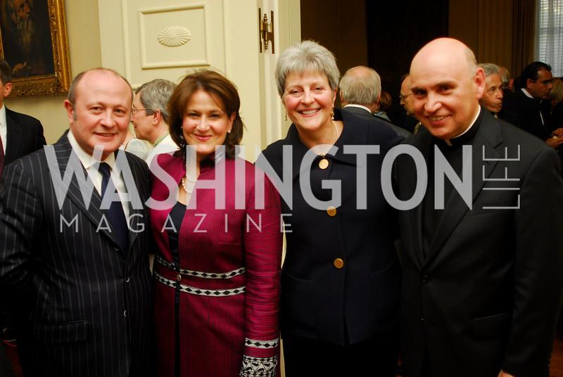 Kyle Samperton,April 19 ,2010,Franco Nuchese,Anita McBride,Martha Ann Alito,Fr.Mario Dorsonville,Vatican National Day