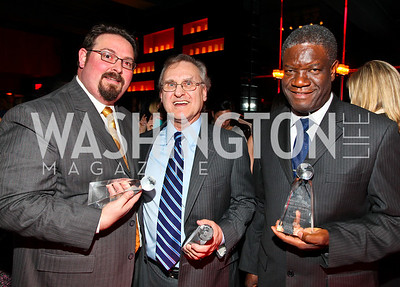 Luis CdeBaca, Stephen Lewis, Denis Mukwege.