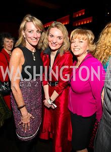 Amb. Elizabeth Bagley, Alyse Nelson, Pat Mitchell.
