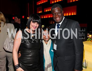 Eve Ensler, Sunitha Krishnan, Dr. Denis Mukwege.