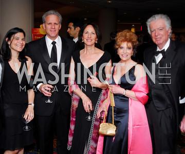 Kyle Samperton, May 8, 2010, WPAS Spring Gala, Sharon Kessler, Michael Oren, Sally Oren, Arlene Kessler, Ed Kessler