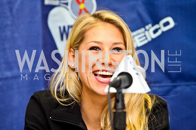 Photo by Tony Powell. Anna Kournikova. WTT VIP Reception with Elton John. Bender Arena. November 15, 2010