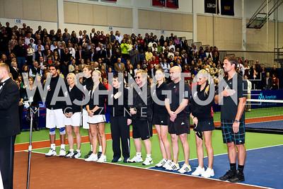 Photo by Tony Powell. WTT VIP Reception with Elton John. Bender Arena. November 15, 2010