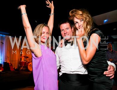 Tracy Bromley, Michael Saylor, Johanna Salmin. Photo by Tony Powell. 2010 Jete Society Dance Party. House of Sweden. April 23, 2010