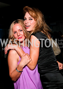 Tracy Bromley, Johanna Salmin. Photo by Tony Powell. 2010 Jete Society Dance Party. House of Sweden. April 23, 2010